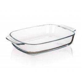 BANQUET Mísa na pečení skleněná CASEO 2 l, hranatá