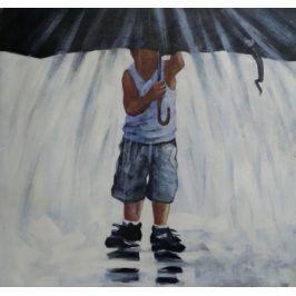 Obraz - Pod deštníkem