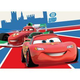 Dětský koberec Cars 26 Mc Queen & Francesco, 95x133 cm