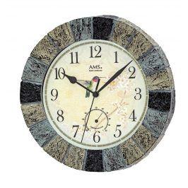 Nástěnné hodiny 5979 AMS řízené rádiovým signálem 26cm