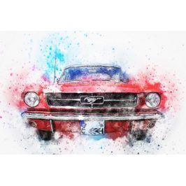 Tištěný obraz - Mustang I.