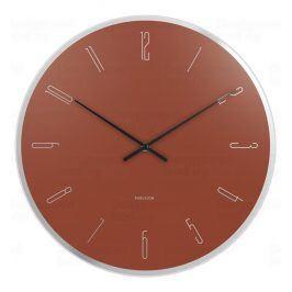 Designové nástěnné hodiny 5800BR Karlsson 40cm
