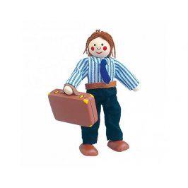Panenka do domečku, tatínek s kufříkem