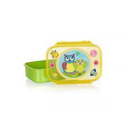 BANQUET Svačinový box OWLS Green 17,5*12cm