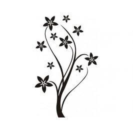 Samolepící dekorace Květ 4