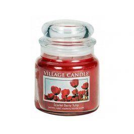 Vonná svíčka ve skle Tulipány-Scarlet Berry Tulip, 16oz