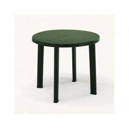 Plastový zahradní stůl Tondo, zelený