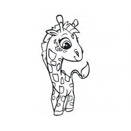 Samolepící dekorace Žirafa