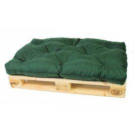 Zelený polstr na paletový nábytek K3, 120x80 cm