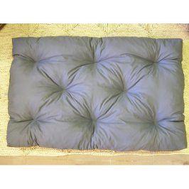 Šedý polstr na paletový nábytek K43, 120x80 cm