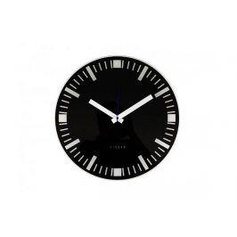 Fisura nástěnné hodiny Basilea Black 40cm