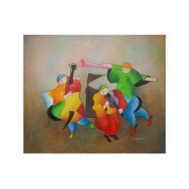 Obraz - Kapela šťastné děti