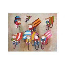 Obraz - Děti na kole