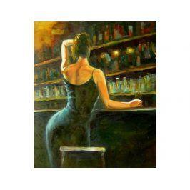 Obraz - Holka u baru