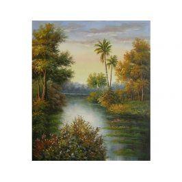 Obraz - Zátoka s palmou
