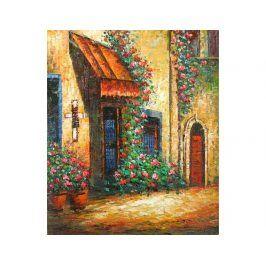 Obraz - Ulice plná květů