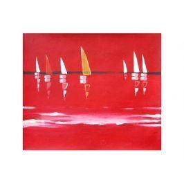 Obraz - Rudý závod