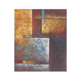 Obraz - Květina na zdi
