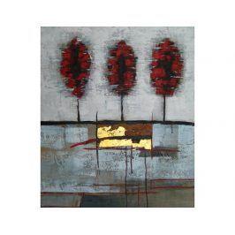 Obraz - Tři červené topoly