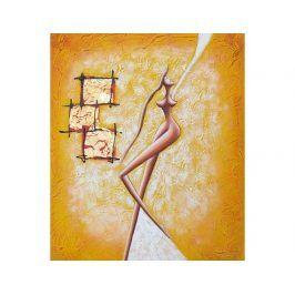 Obraz - Žlutá tanečnice