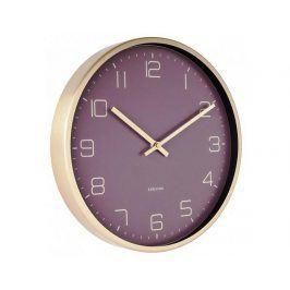 Designové nástěnné hodiny 5720PU Karlsson 30cm