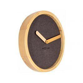 Designové nástěnné hodiny 3155br Nextime Jeans Calm 30cm