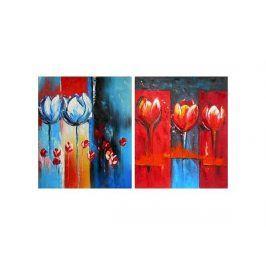Obrazy - Abstraktní květiny