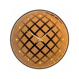 Designové nástěnné hodiny 8185co Nextime Pendula Round 43cm