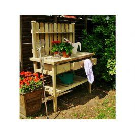Zahradní pracovní stolek