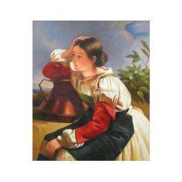 Obraz - Dívka s džbánem