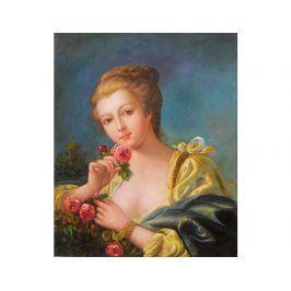 Obraz - Dáma s růží