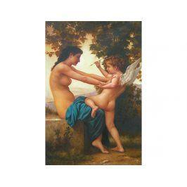 Obraz - Dívka s andělem