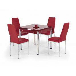 Jídelní stůl Kent červený