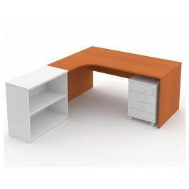 Rohový psací stůl ERGO