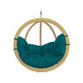 Závěsné křeslo Globo Chair Green Weatherproof