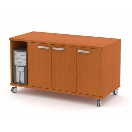 Box pojízdný - PC, 3 dveře