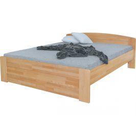 Jednolůžková masivní postel Dona