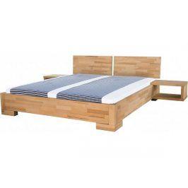 Masivní postel Alba