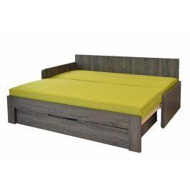 Rozkládací postel Duovita, lamelový rošt