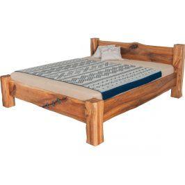 Designová masivní postel DANTE