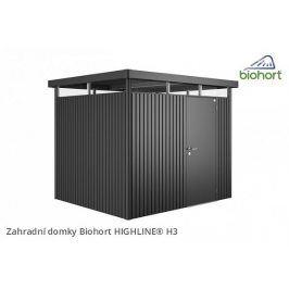 Zahradní domek HIGHLINE H3 s jednokřídlými dveřmi