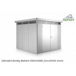 Zahradní domek HIGHLINE H3 s dvoukřídlými dveřmi