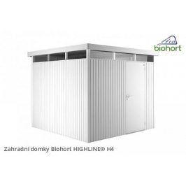 Zahradní domek HIGHLINE H4 s jednokřídlými dveřmi