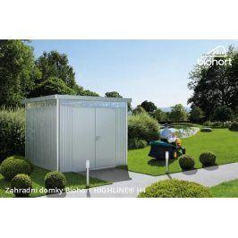 Zahradní domek HIGHLINE H4 s dvoukřídlými dveřmi