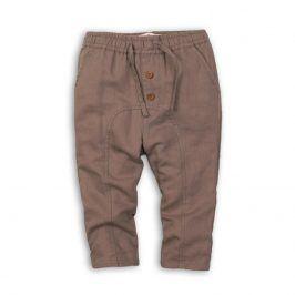 Kalhoty chlapecké hnědá 110/116
