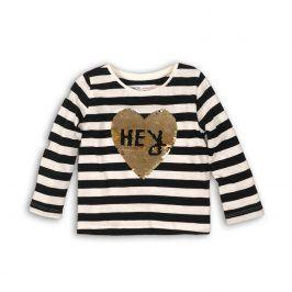 Tričko dívčí s dlouhým rukávem s aplikaci holka 110/116