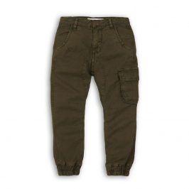 Kalhoty chlapecké kapsové zelená 110/116