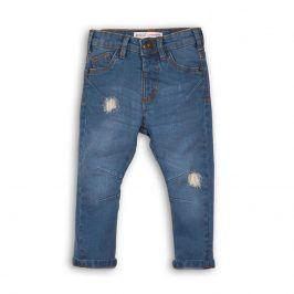 Kalhoty chlapecké džínové s elastenem modrá 116/122