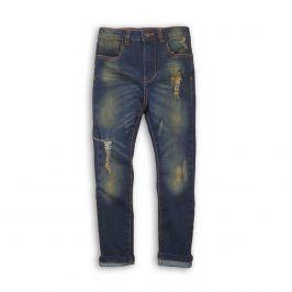 Kalhoty chlapecké džínové s elastenem kluk 152/158