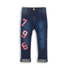 Kalhoty dívčí džínové s elastenem holka 104/110